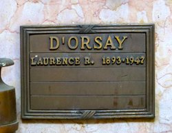 Laurence Rex D'Orsay