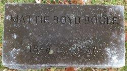 Martha Mattie <i>Boyd</i> Bogle