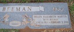 Helen Elizabeth <i>Martin</i> Beeman