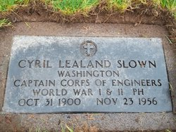 Cyril Lealand Slown