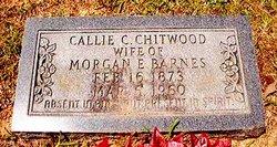 Callie Caledonia <i>Chitwood</i> Barnes