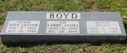 Larry James Boyd