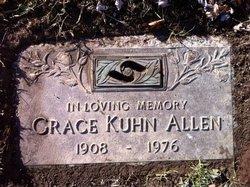 Grace <i>Kuhn</i> Allen