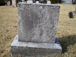 Bertha A. Burgess