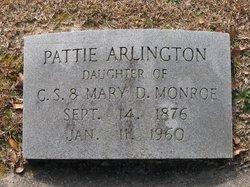 Pattie <i>Monroe</i> Arlington