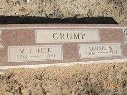 W J Pete Crump