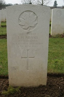 Lieut Lloyd Herman Adams