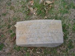 Katherine Elizabeth Kate <i>Robeson</i> Carter