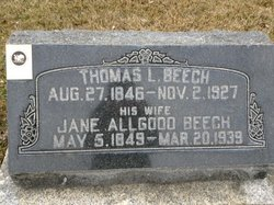 Jane <i>Allgood</i> Beech