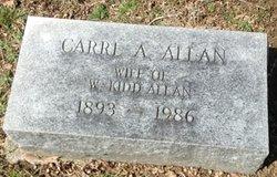 Carrie Allan