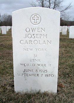Owen Joseph Buddy Carolan
