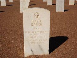 Foy E Baker