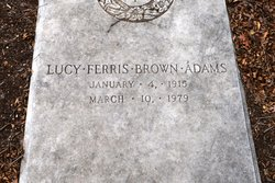 Lucy Ferris <i>Brown</i> Adams