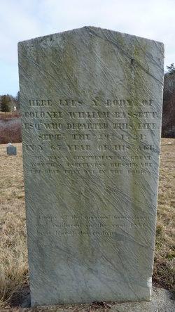 Col William Bassett, III