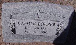 Carole Boozer