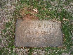 Amelia <i>King</i> Van Winkle