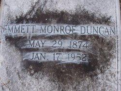 Emmett <i>Monroe</i> Duncan