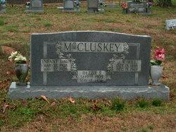 Dezzie Louise <i>Scruggs</i> McCluskey