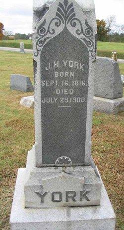 John Henry J. H. York