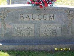 Flora Pansy <i>Birmingham</i> Baucom