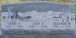 Eleanor <i>Burwell</i> Stroup