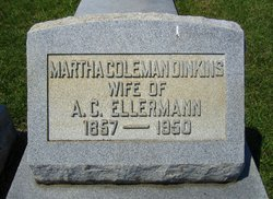 Martha <i>Coleman</i> Ellermann
