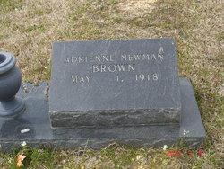 Adrienne <i>Newman</i> Brown