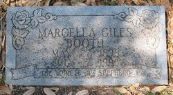 Marcella <i>Giles</i> Booth