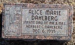 Alice Marie Dahlberg