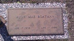 Algie Mae <i>Covington</i> Boatman