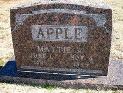 Mattie A Apple
