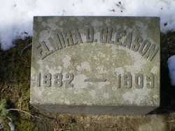 Elmira B Myra <i>Delano</i> Gleason