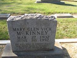 Mary Glen <i>Vick</i> McKinney