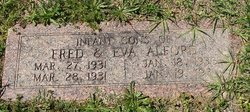 Infant Son Of Fred & Eva Alford
