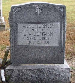 Anne Olivia <i>Turnley</i> Coffman