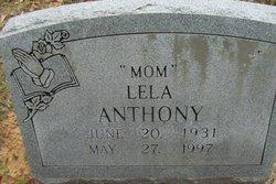 Lela Anthony