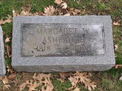 Margaret W. <i>Ashton</i> Ashbaugh