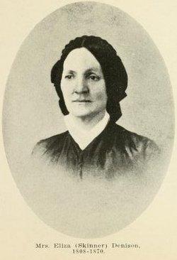 Eliza <i>Skinner</i> Denison
