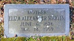 Eliza Francis Fannie <i>Bailiff</i> Alexander