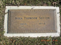 Nora <i>Thomson</i> Sutton