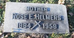Rose Elizabeth <i>Meiners</i> Helmers