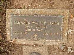 Bernard Walter Hann