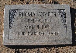 Rhoma Snyder