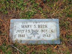 Mary Sophronia <i>Wise</i> Belk