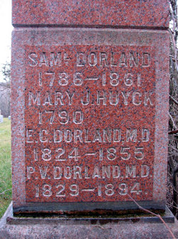 Mary Jane <i>Huyck</i> Dorland