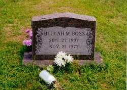 Beulah M Boss