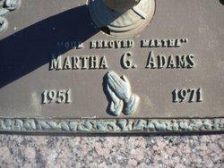 Martha G. Adams