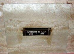 Raymond H Hack
