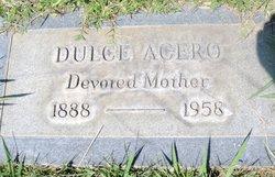 Dulce <i>Romero</i> Acero
