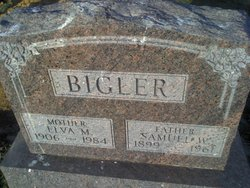 Elva M <i>Smith</i> Bigler